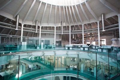 Kerakoll Green Lab, Sassuolo; progetto di Studiobios Associati, 2012.