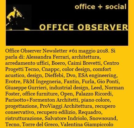 OfficeObserver_Newsletter_61_maggio_2018
